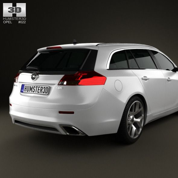 Opel Insignia OPC Sports Tourer 2012
