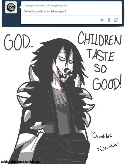 Ok, why do people just ASSUME that LJ eats children  HE
