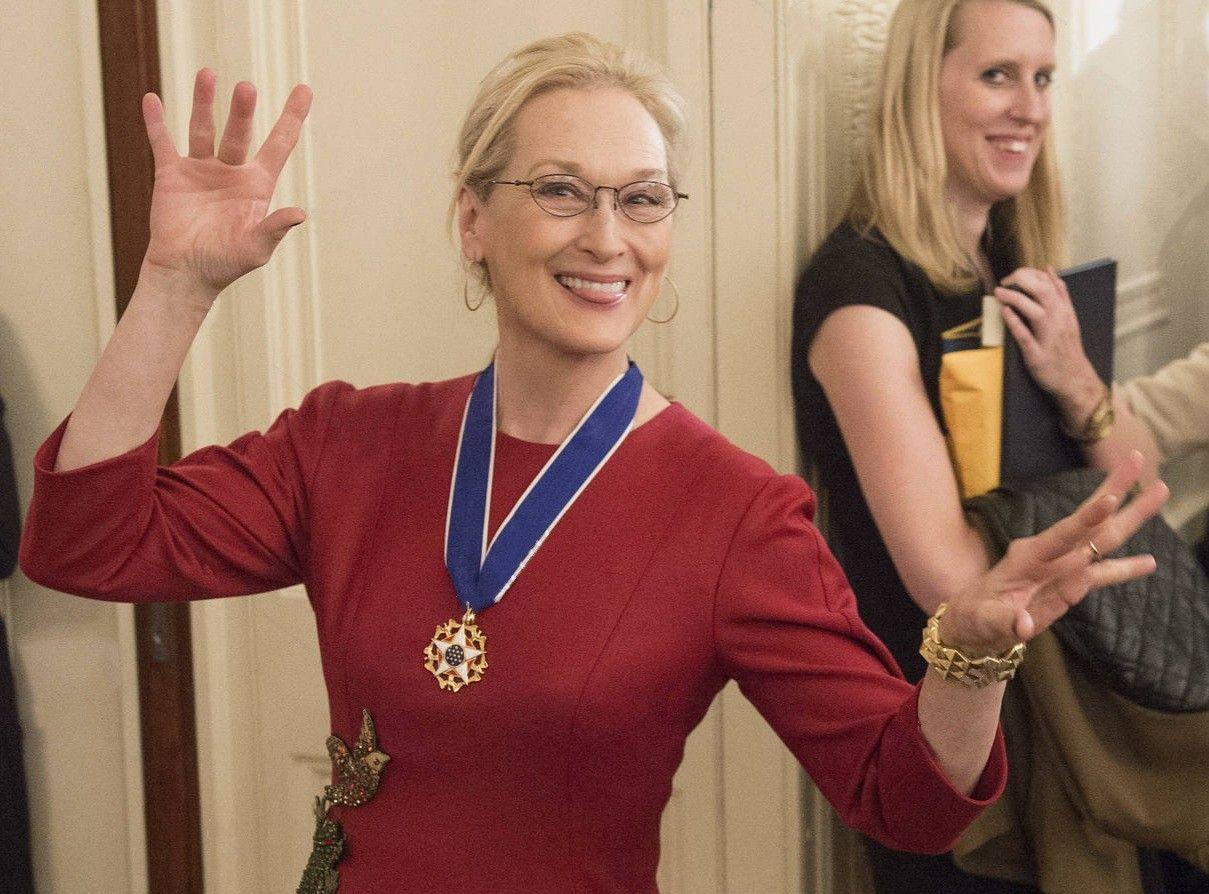 Meryl President Obama Presents The Presidential Medal Of Freedom 2014 Meryl Streep Women Actresses