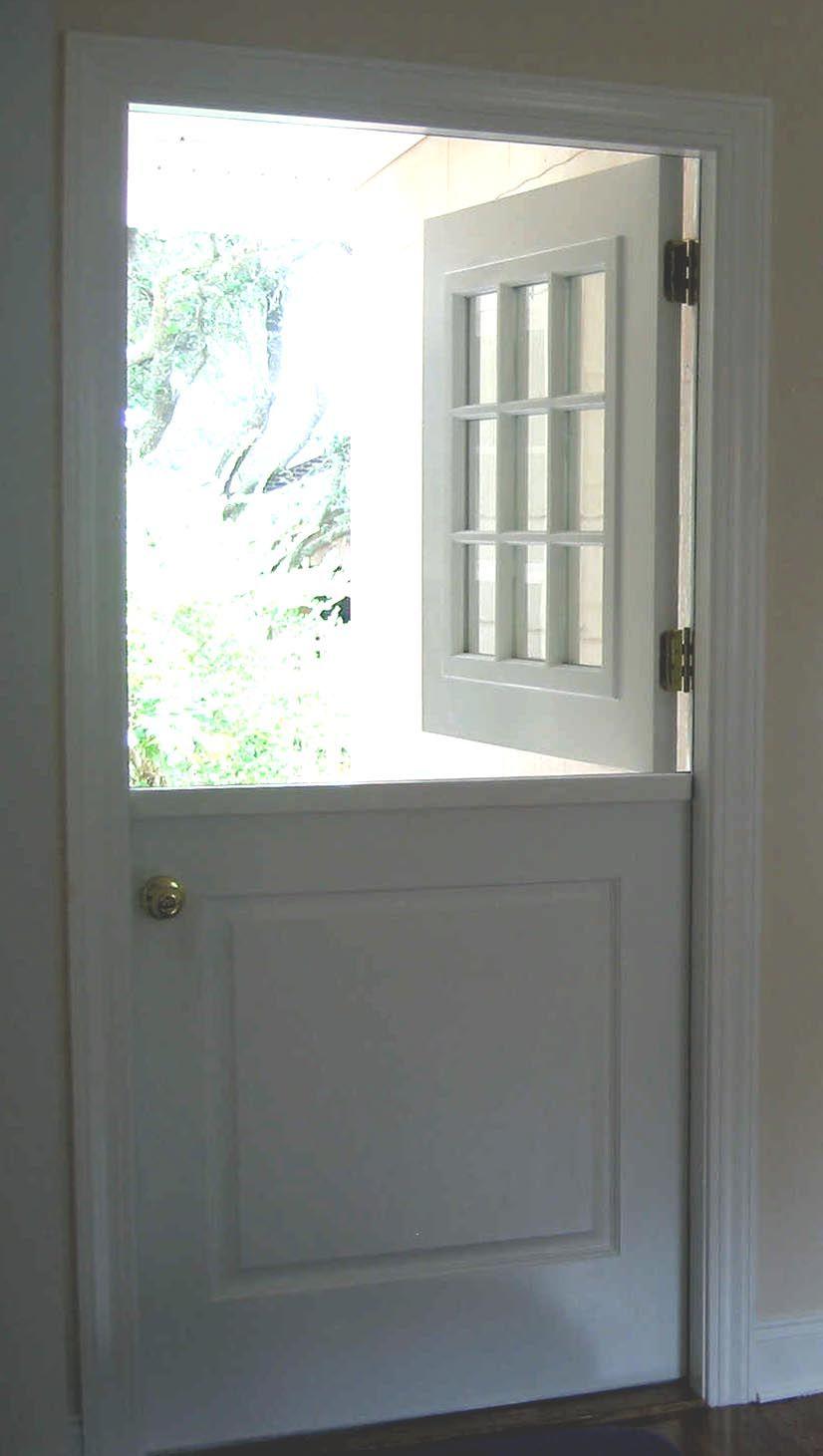 Exterior Dutch Door Dd200 Gl Panel