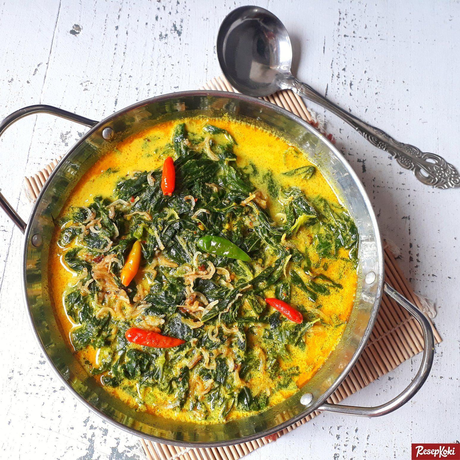 resep gulai daun singkong resep   resep makanan sehat resep gulai Resepi Sambal Goreng Minang Enak dan Mudah