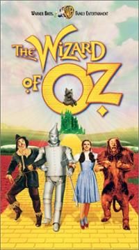 Wizard of Oz [VHS] ~ Judy Garland (actor) Cover Art