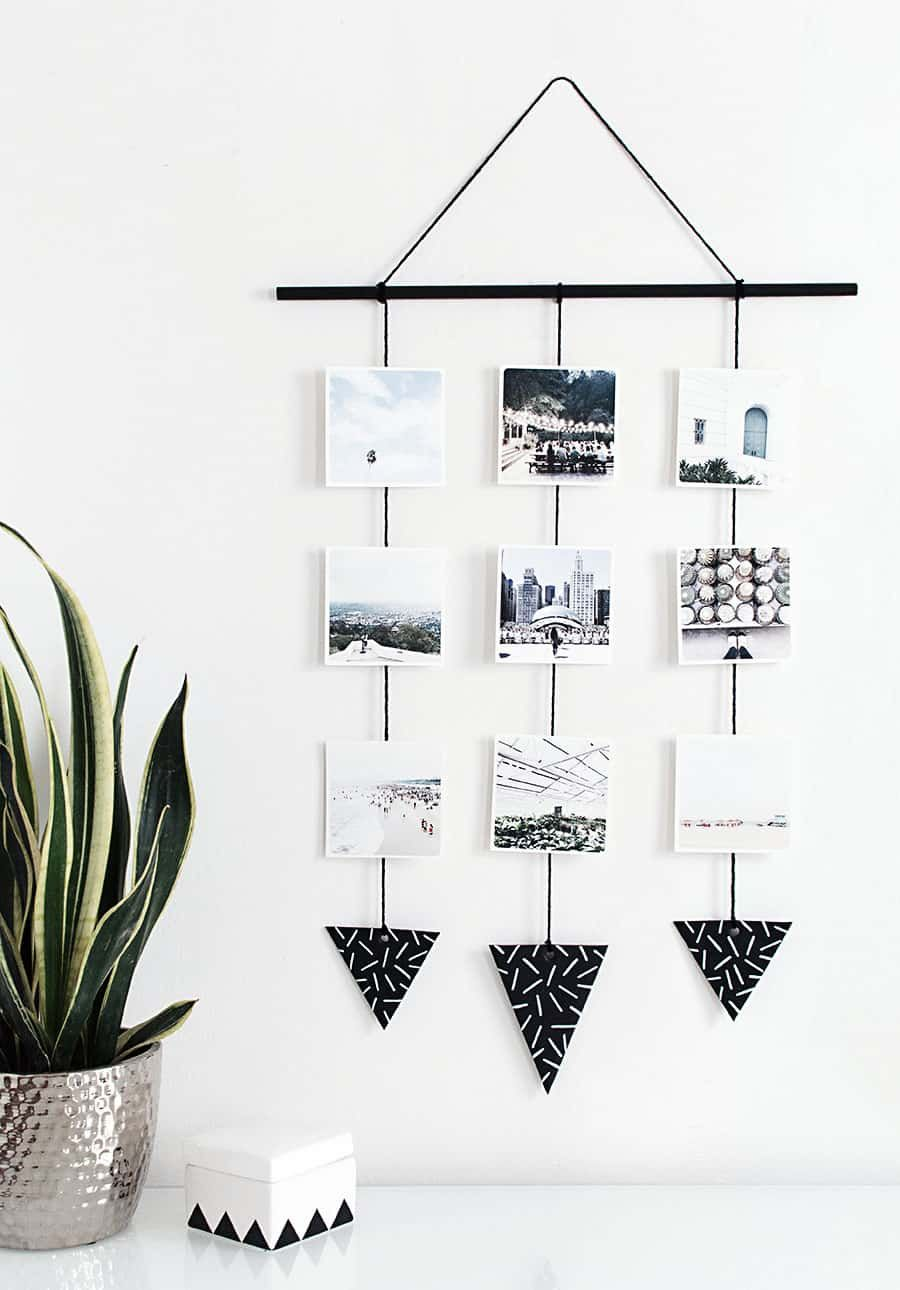 Easy and Simple DIY Wall Hanging Ideas | Simple diy, Diy wall and ...