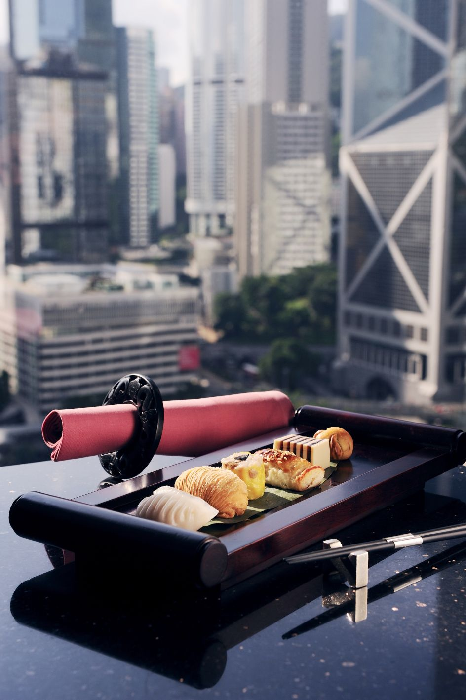 Dim Sum With A View In M Bar Dim Sum Vegetarian Dim Sum Traditional Chinese Food
