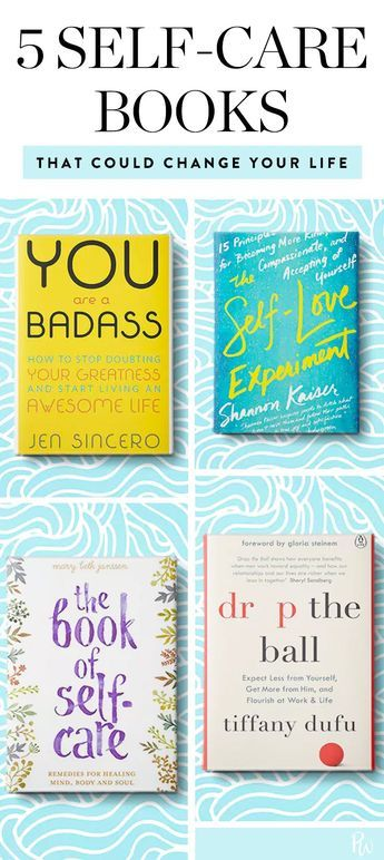 5 Self-Care Books That Are Like Getting a Big, Warm Hug #bookstoread