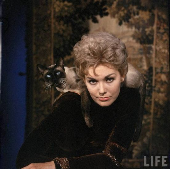 People used to tell me I looked like Kim Novak, it made me really happy because she was the coolest, probably still is!