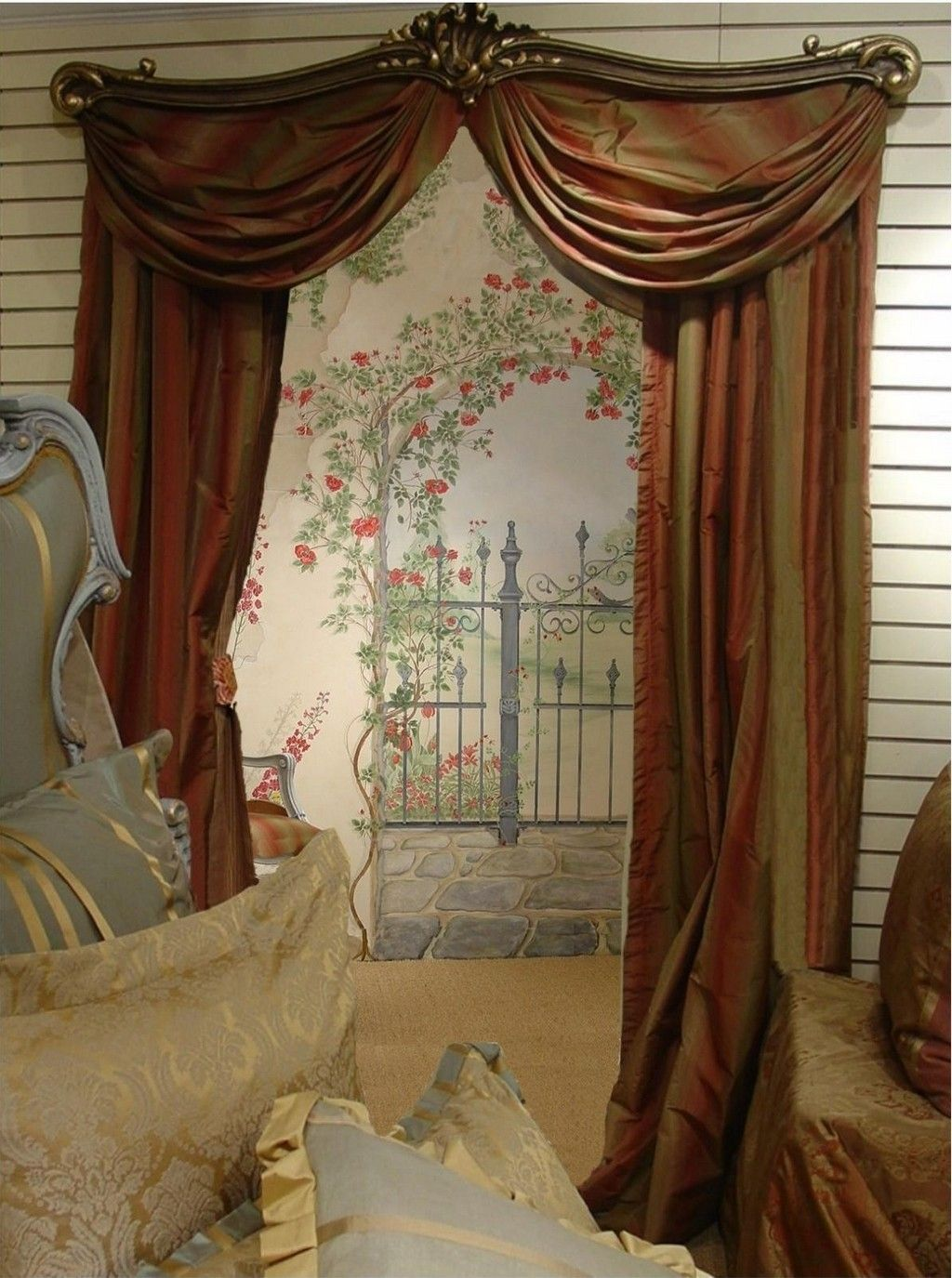 images of vintage drapes