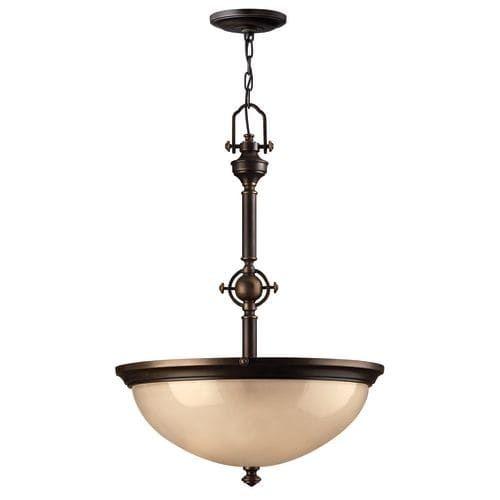 Hinkley Lighting H4162 3 Light Indoor Bowl Shaped Pendant From The Mayflower Collection Ping Best Deals On Chandeliers Pendants