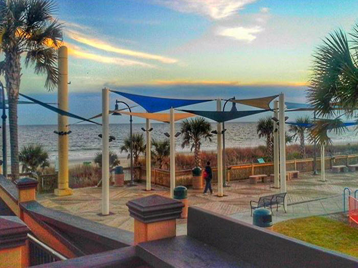 Grab A Bite To Eat At Landshark Bar And Grill Located Right On The Boardwalk