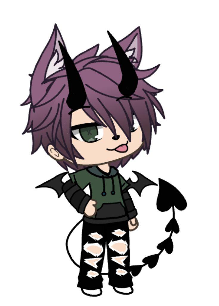 Cute Gacha Boys : gacha, Gacha, Outfits, Ideas, Outfits,, Character