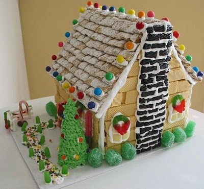 Funny Gingerbread House Ideas How Fun Gingerbread House Deco