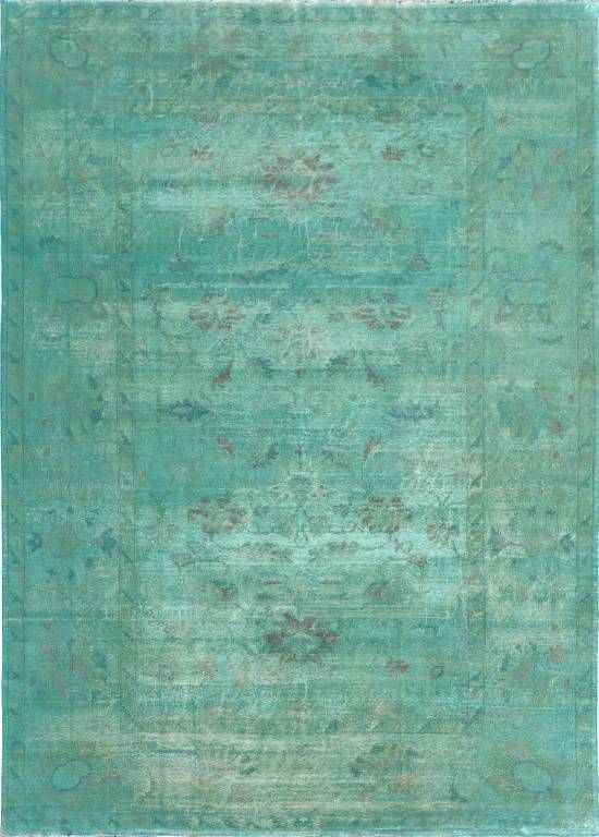 Love the color of this Matt Camron Overdyed Aqua rug!! We have something  similar - Green & Aqua Rug. Need This Coloring To Tie In The Couch And Walls