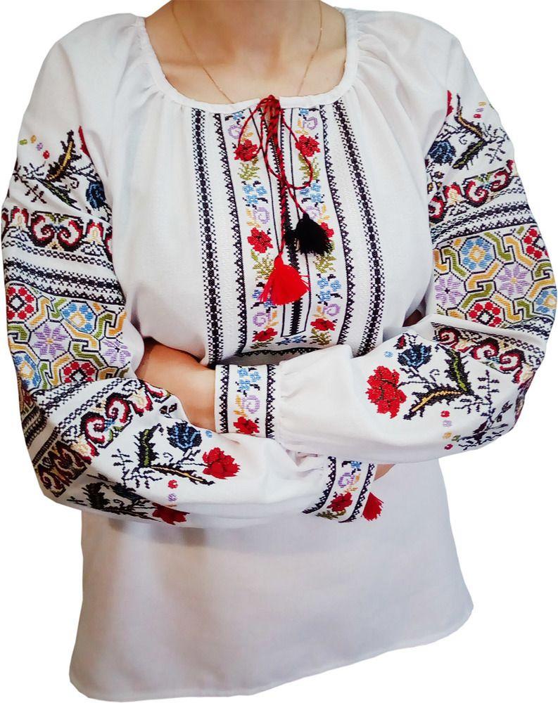 Жіноча вишиванка - вишивана сорочка з унікальним орнаментом (Арт. 01750) b5074d036d15c