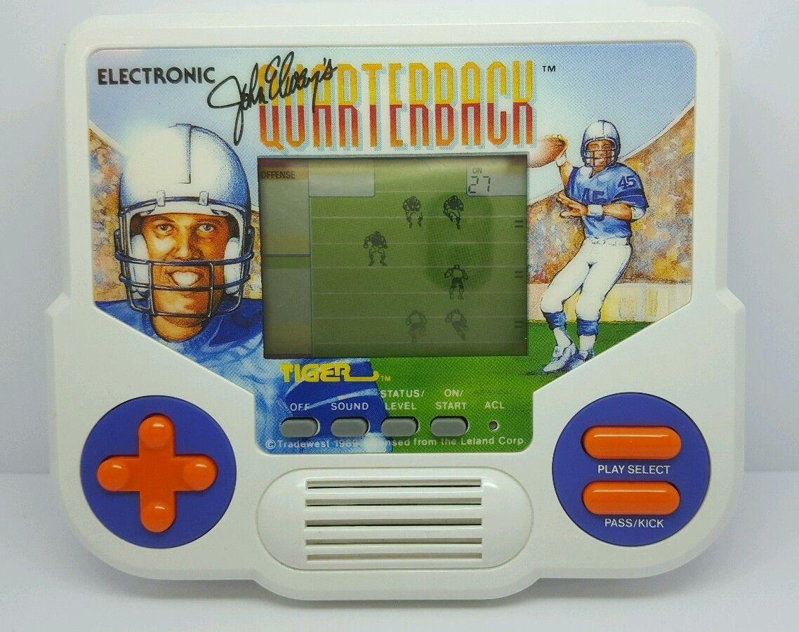 John elways quarterback tiger electronics handheld 1988