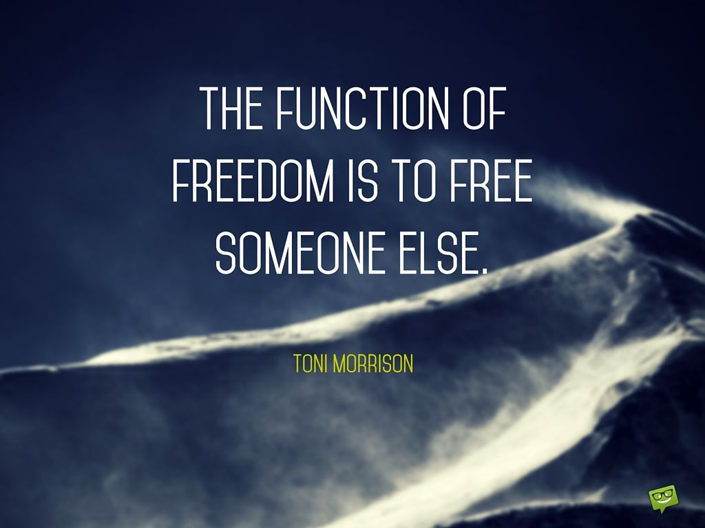Meaningful Life Quotes Short And Meaningful Quotes  Toni Morrison Meaningful Life