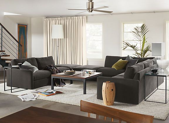 Easton Sectionals - Easton Sectional Room - Living - Room  Board