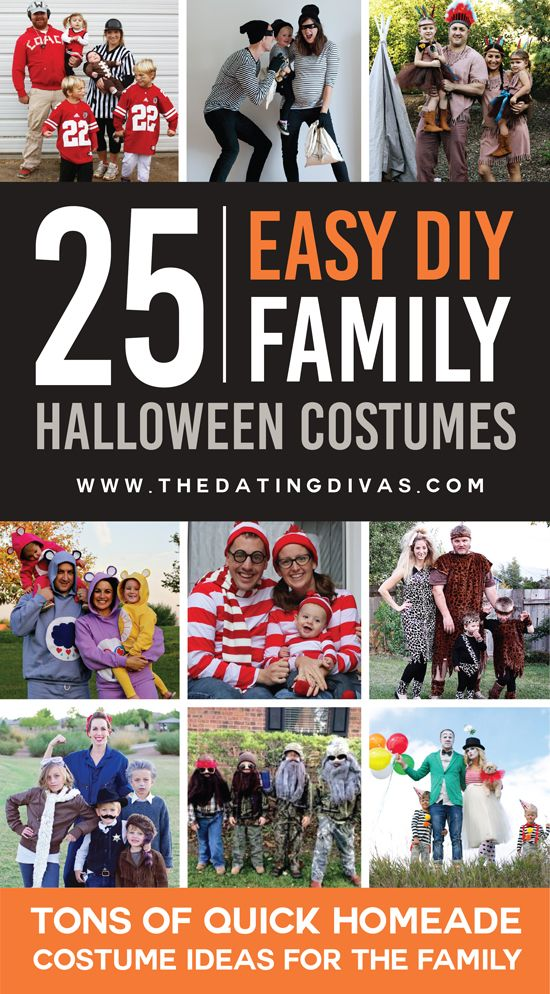 These DIY family costume ideas are SO