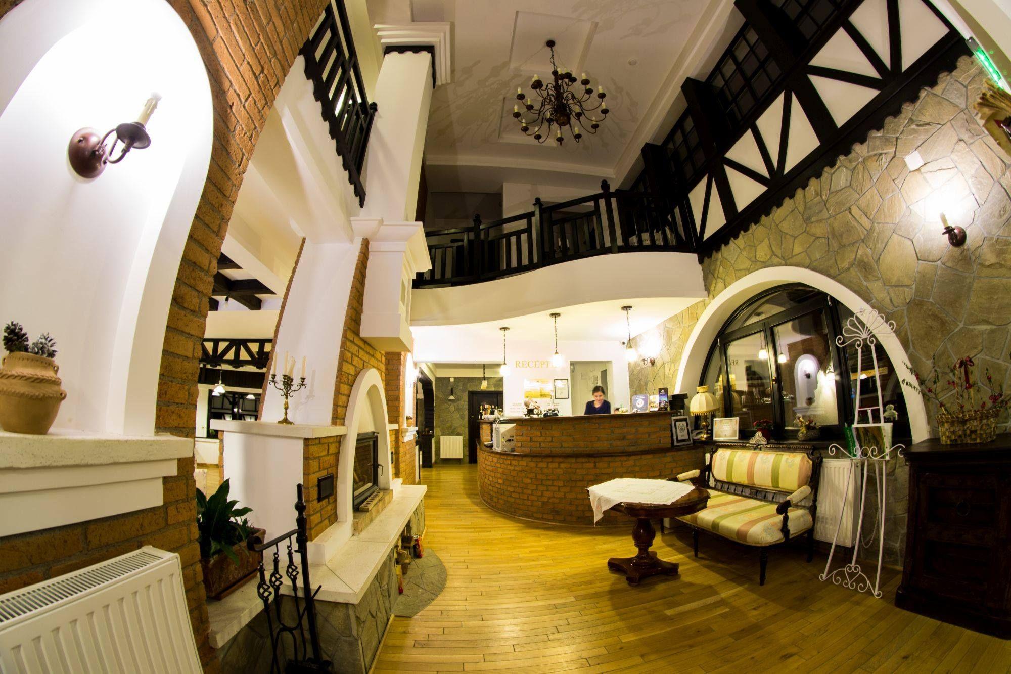 bran romania boutique hotel interior design bratescu mansion lounge - Traditional Hotel Interior