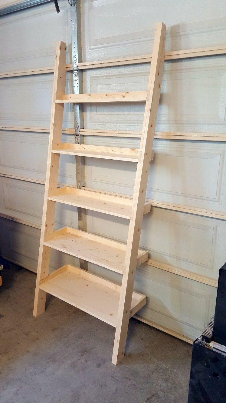 super popular 754ee 91502 Leaning Ladder Shelf- 30.5