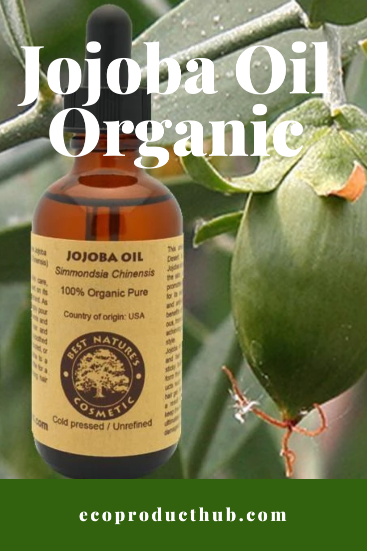 Jojoba Oil Organic #jojobaoil Whether you use it by itself or you're a fan of DIY products and you need it for a recipe, this organic Jojoba Oil available in our shop is exactly what you're looking for. Here at Ecoproducthub.com, we carry only the best natural products online. Use Jojoba Oil to moisturize your skin as well as things you might not expect like remove makeup and help clear rashes.uses #hair #acne #face #benefits #recipes #moisturizer #skincare #DIY #jojobaoil