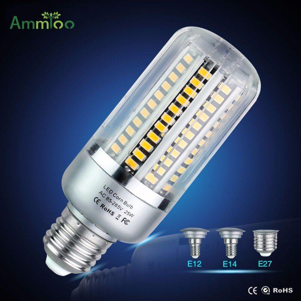 E27 E14 E12 Bombillas Led Bulb Lamp 110v 220v Led Light 5w 10w 15w 20w 25w Smd5736 No Flicker Lampada Led Light White Warm White Buy Now Discount 27 03