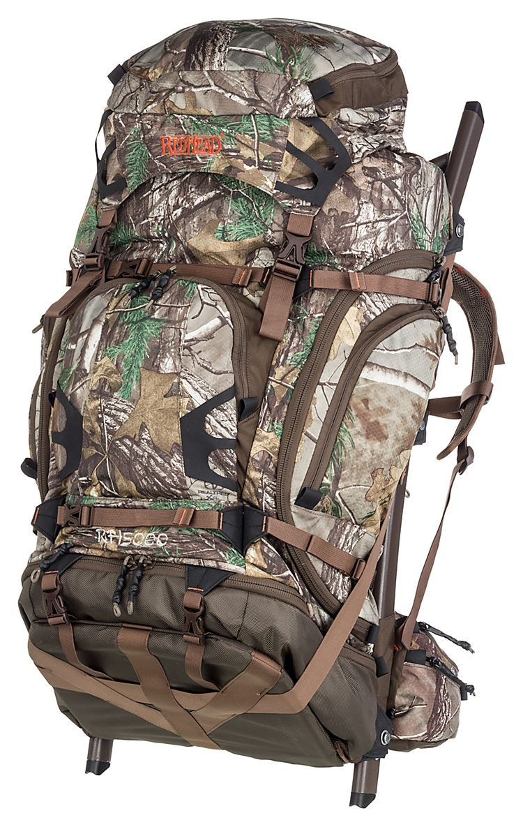 redhead rh5000 external frame pack combo bass pro shops the best hunting fishing - External Frame Hunting Backpack