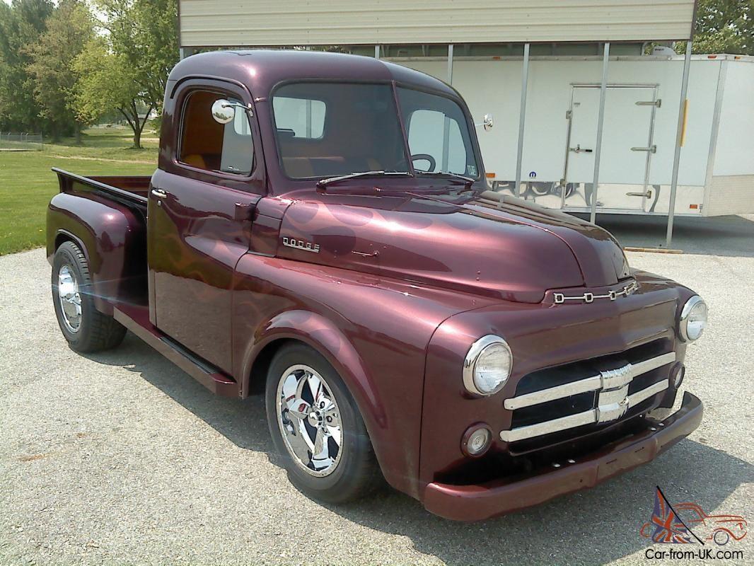 1953 dodge b4b 1 2 ton job rated truck