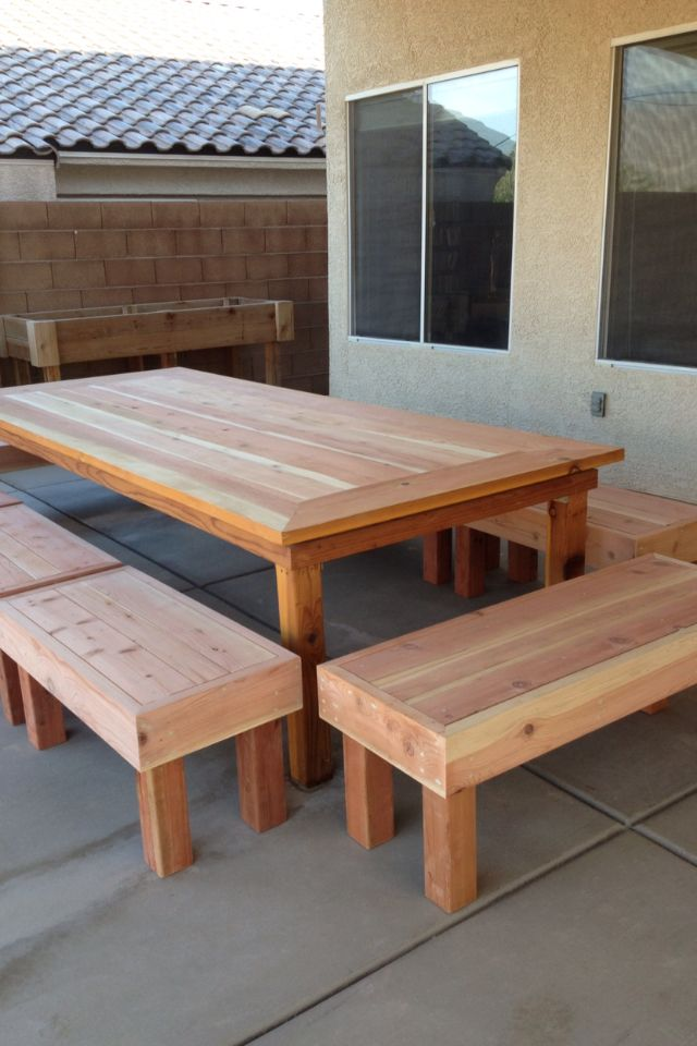 Must Make Extra Long Outdoor Dining Table Perhaps Out Of