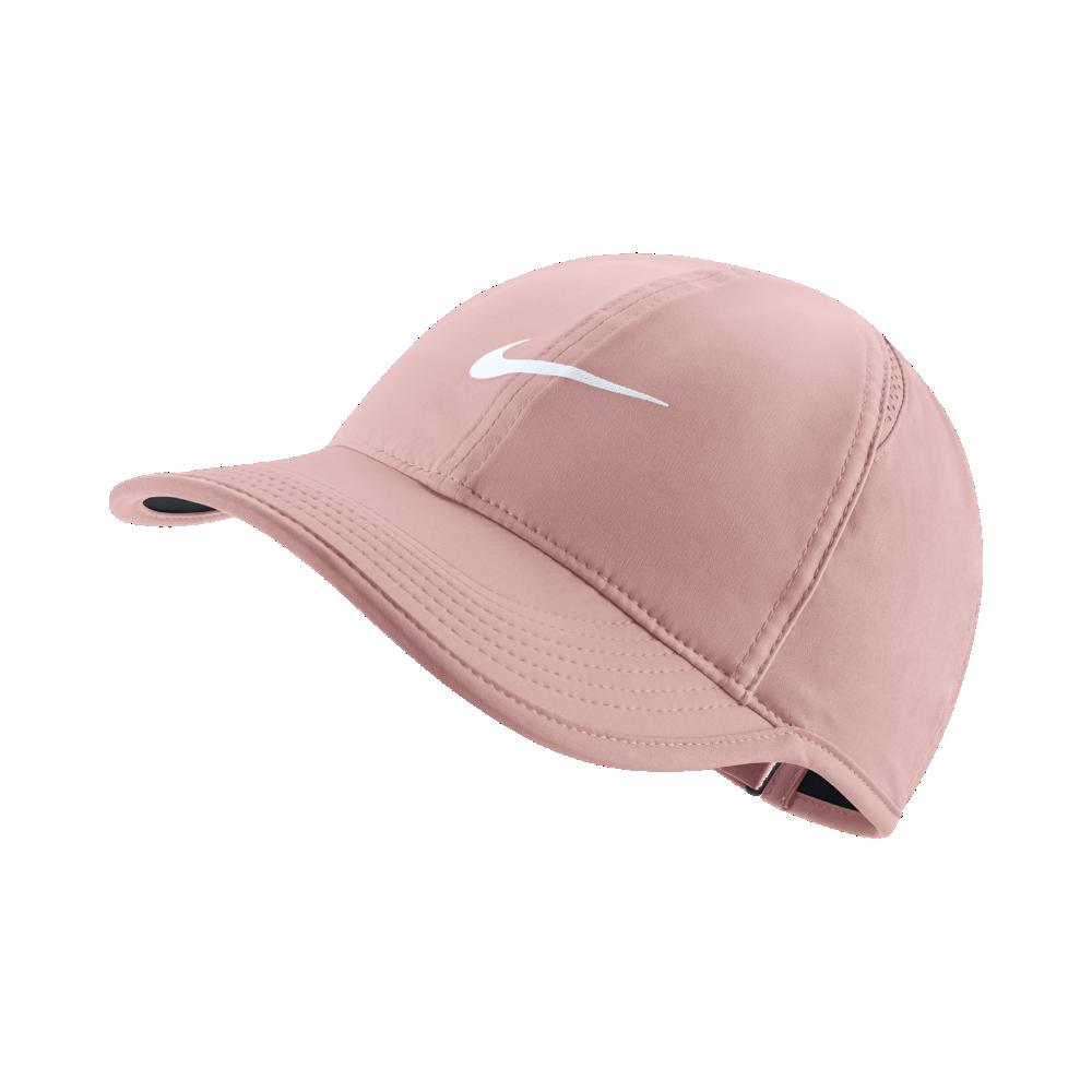 c7064fed1a006 Nike Featherlight Adjustable Hat (Pink)