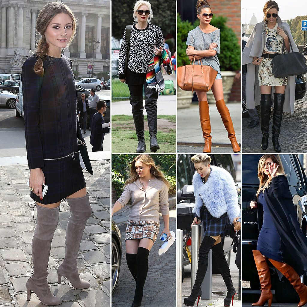 over knee boots celebrities - Google Search | boots | Pinterest ...