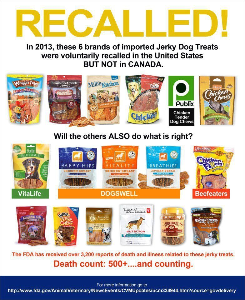 Once Again Please Double Check No Treats Made In China Ever Please Chicken Treats From China Could K Dog Food Recipes Jerky Treats Food Recalls