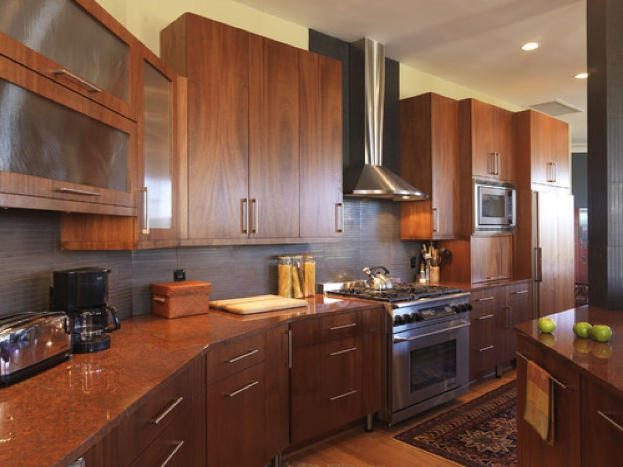Beautiful Frameless Kitchen Cabinets Update Flat Cabinet ...
