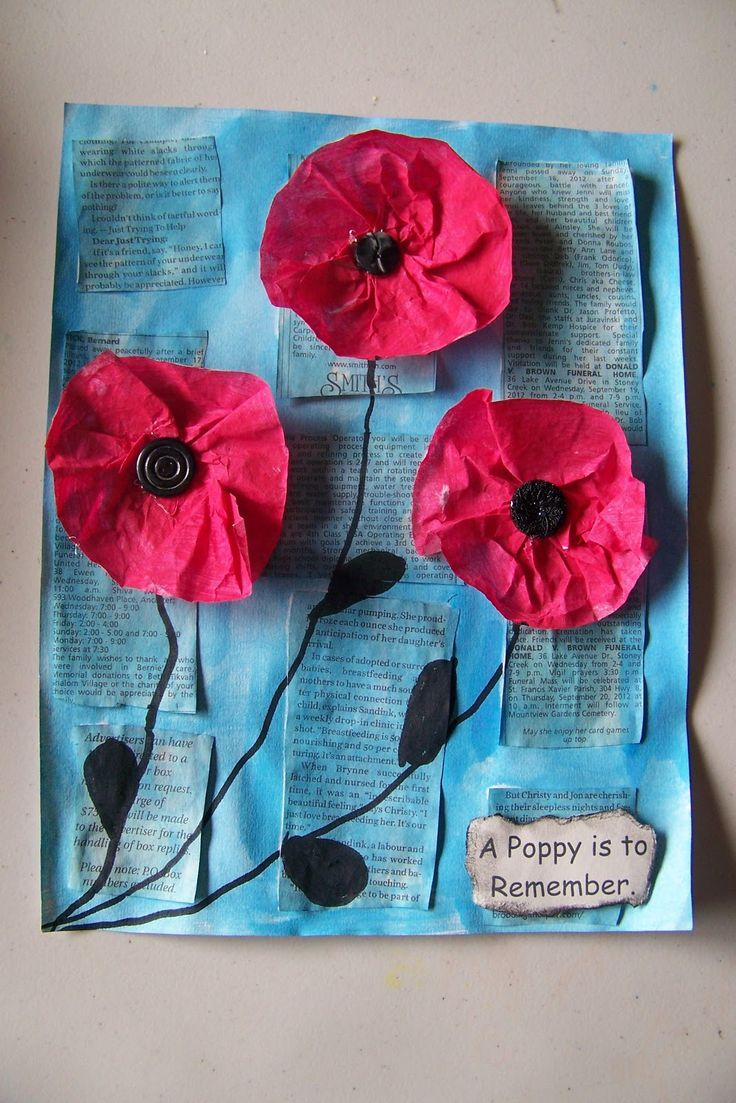 Our Remembrance Day art started with reading the book A Poppy is to Remember. We talked about the importance of November 11th and about th... #remembrancedaycraftsforkids