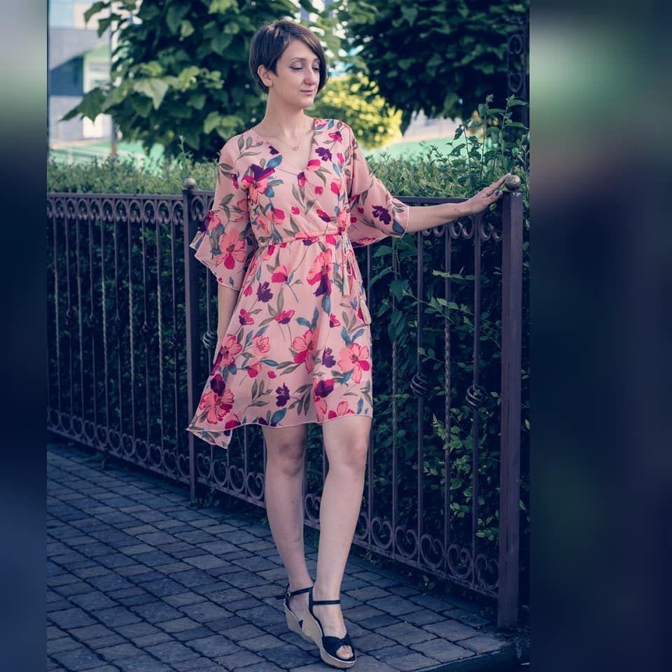 Уверенным шагом из пятницы в выходные ))) Повод для поста - платье. Оно меня покорило расцветкой - с...