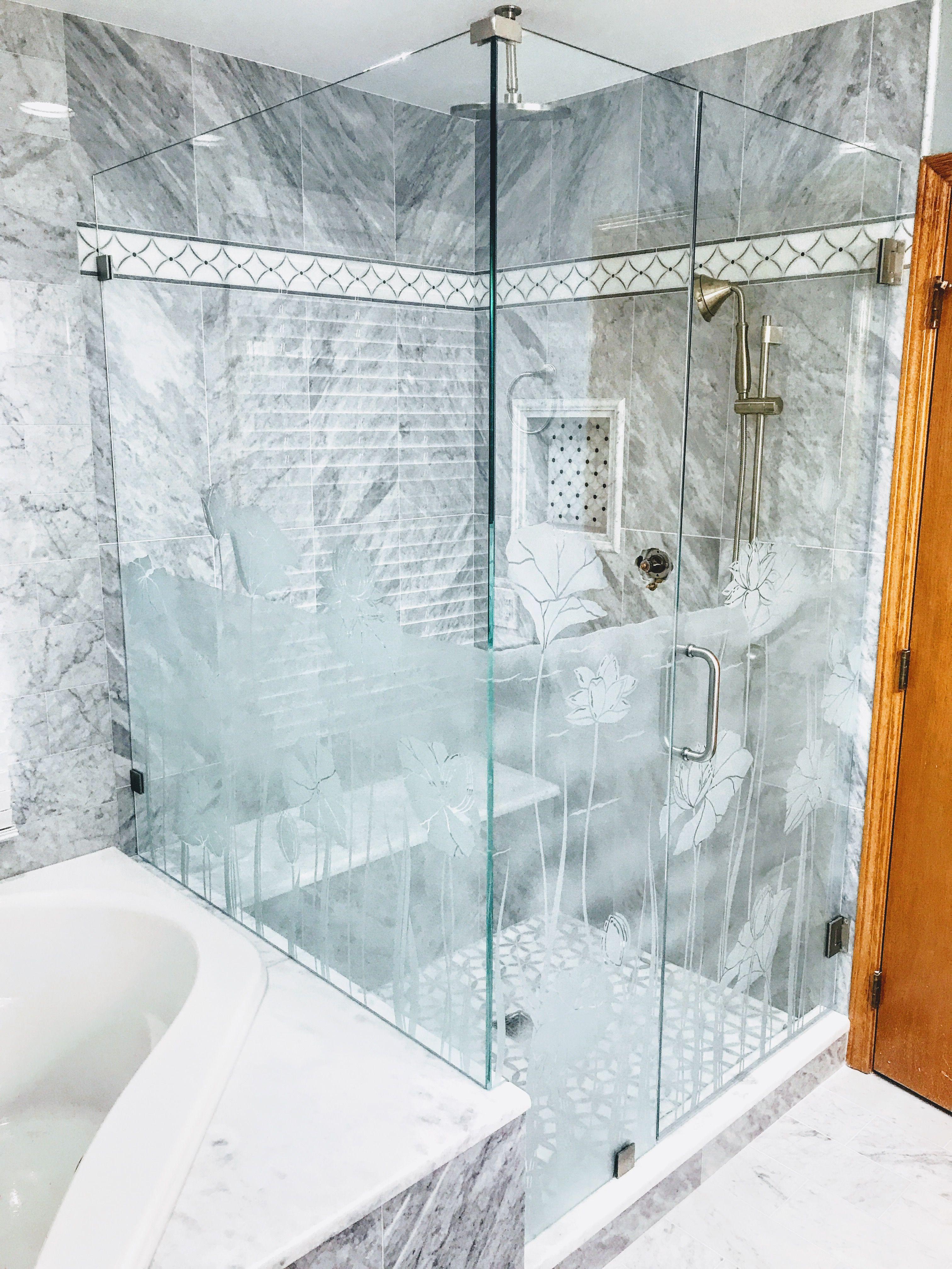 Custom Shower Glass Shower Enclosure And Shower Doors With Custom