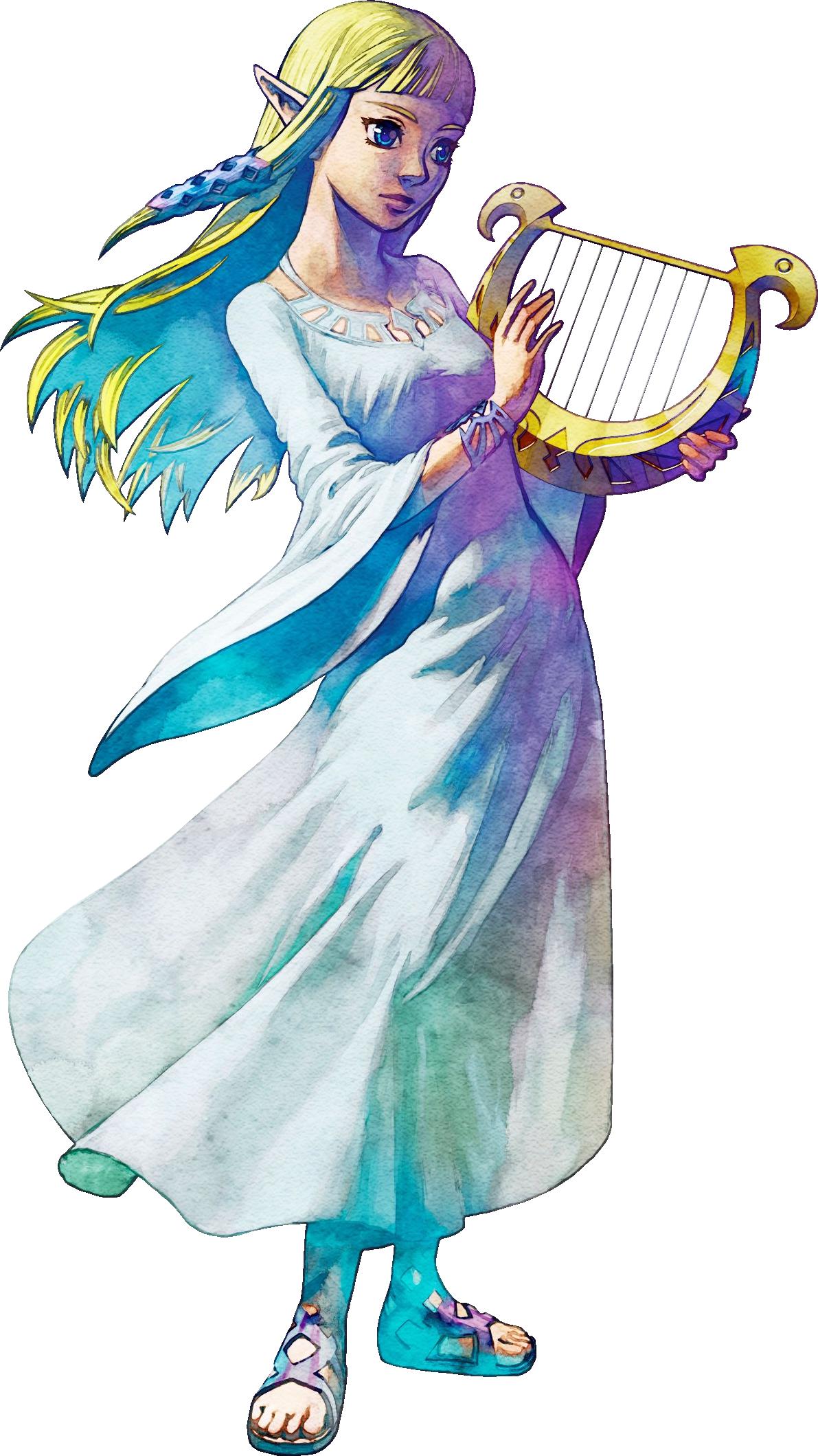 Zelda Goddess Dress From Skyward Sword