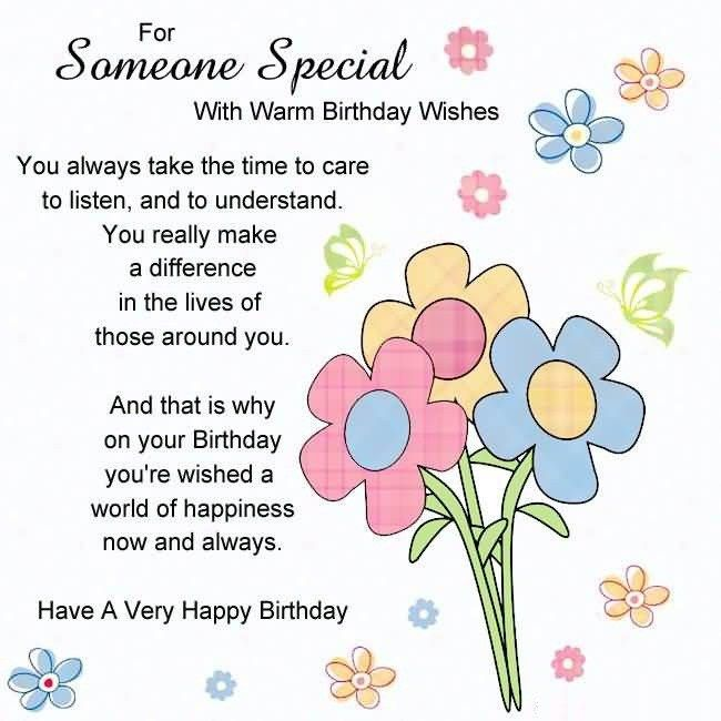 Special messages for someone special