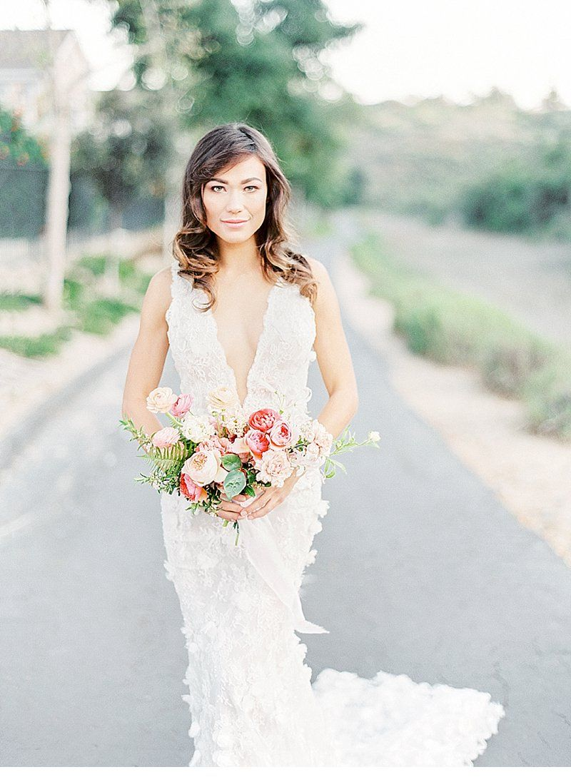 Peach and Apricot Bridal Inspirations by Cavin Elizabeth