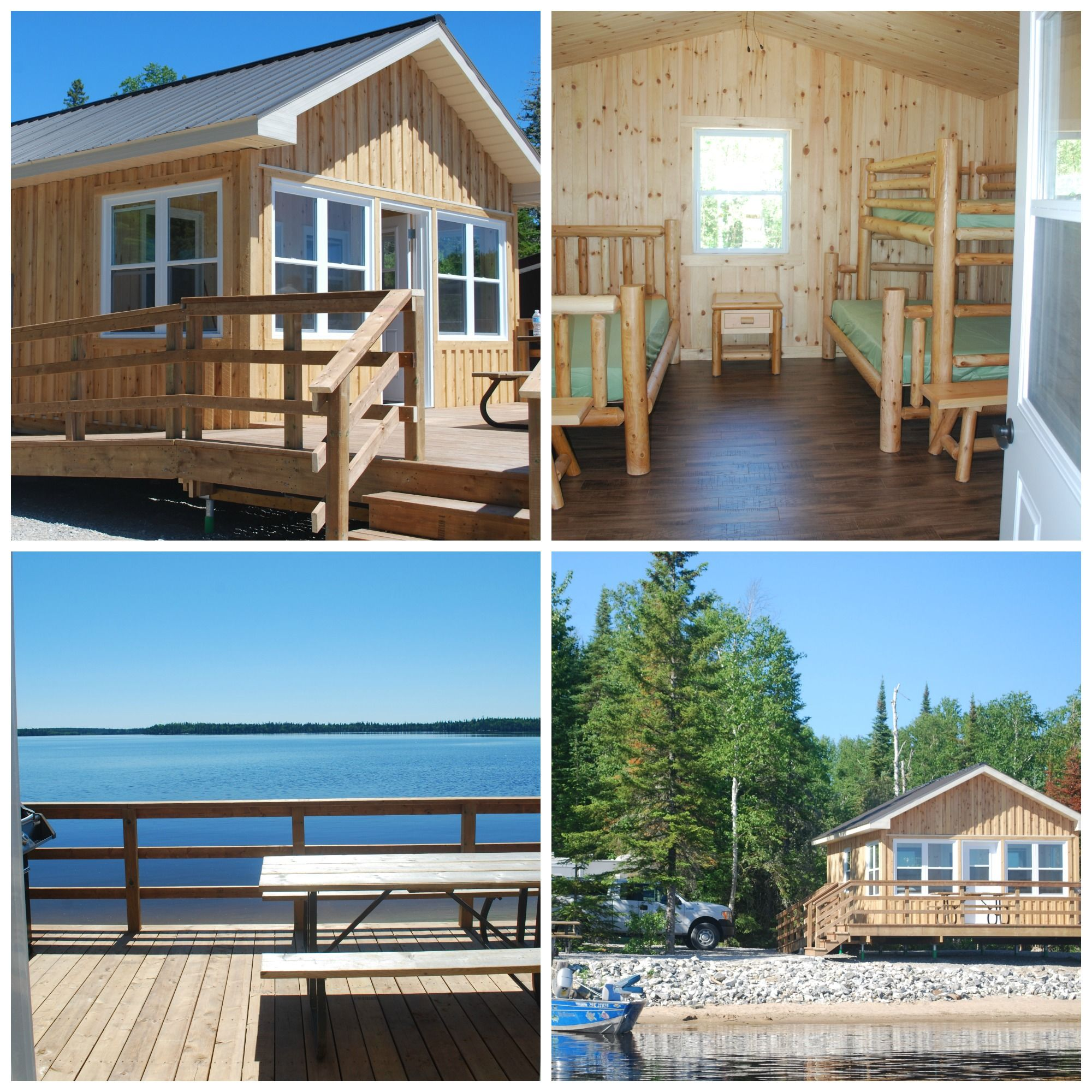 Cozy Camp Cabin and perfect for your fishing adventure at