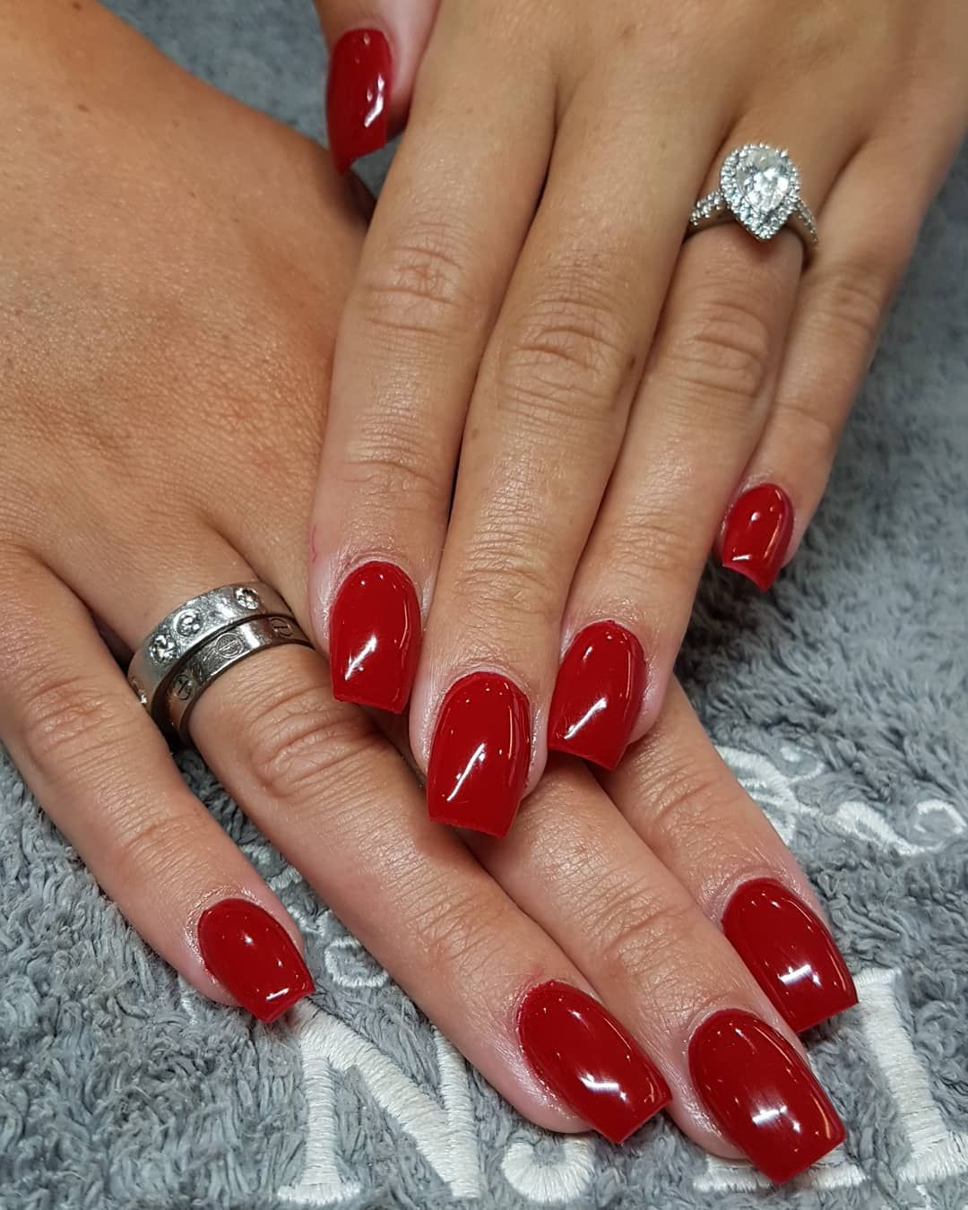 Opi gel the thrill of brazil opi red nail polish red