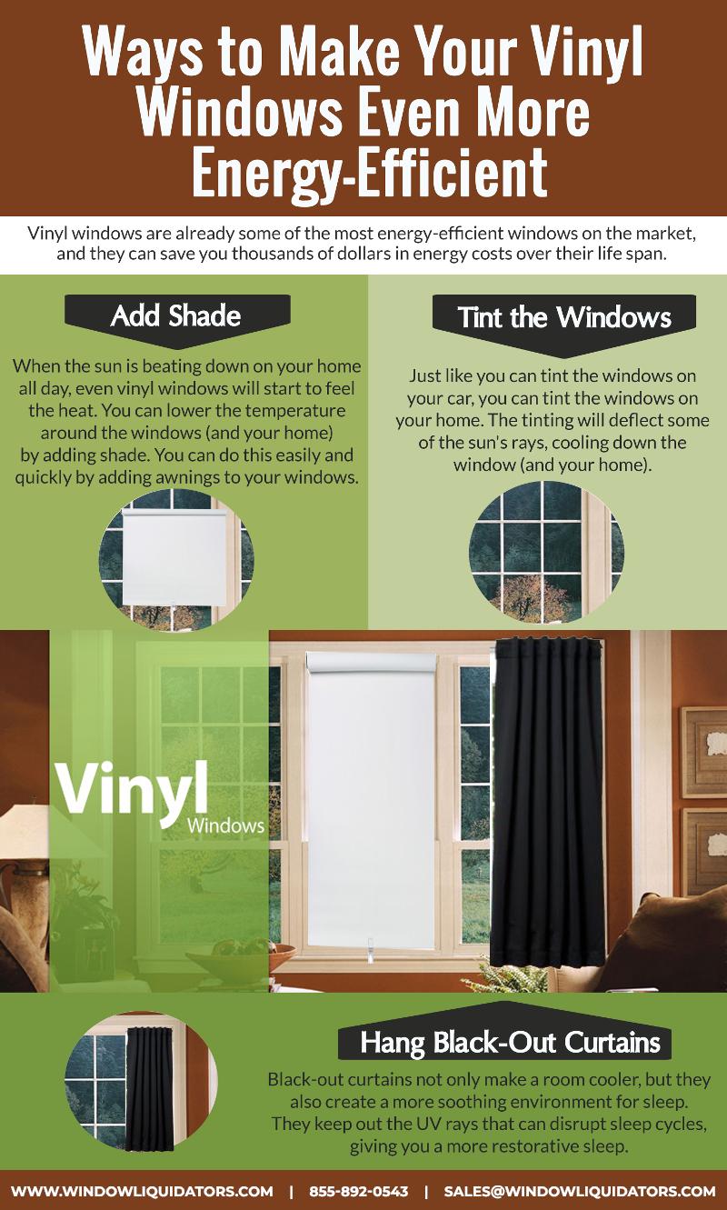 Ways To Make Your Vinyl Window Even More Enegry Effecient Window Vinyl Diy Window Energy Efficiency