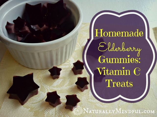 Homemade Elderberry Gummies: Vitamin C Treats