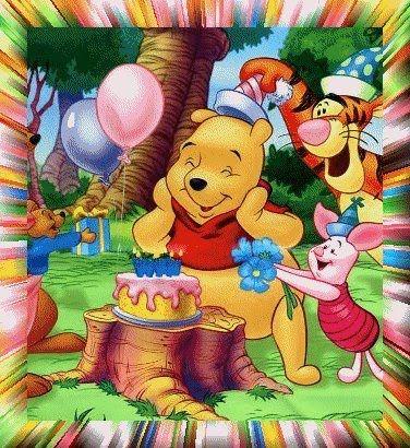 Pooh Birthday Wish Card Birthdays Pinterest Winnie The Pooh