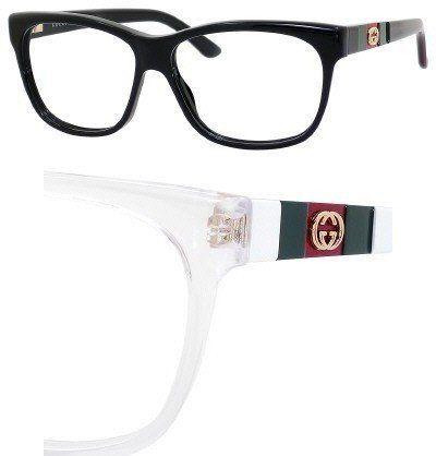 GUCCI Eyeglasses 3543 05L0 White 55MM Gucci. $164.81 | Women ...