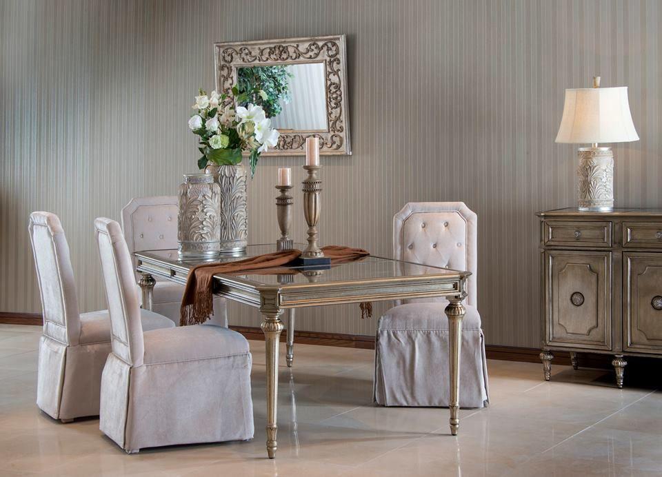 وصلت تشكيلة جديدة من طاولات السفرة تفضلوا بزيارتنا للمزيد أثاث طاولات سفرة ميداس Furniture Home Accessories Home
