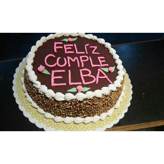 resultado de imagen para como decorar una torta con crocante de mani