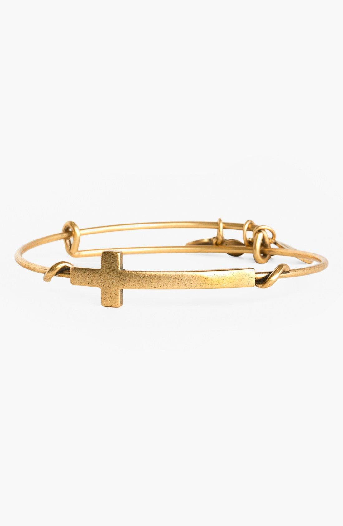 criss cry bracelet crystal cross francesca jillian do gold product bangles pav cl bangle s in