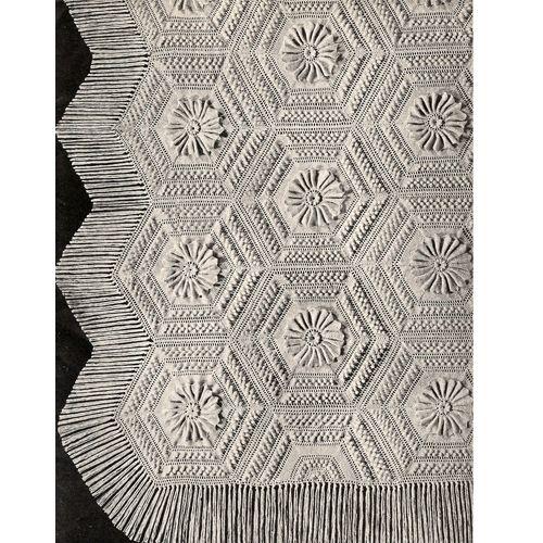 Crochet Water Lily Bedspread Pattern No 553 | Crochet - Blankets ...