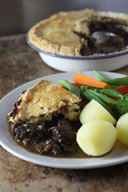 Steak, Mushroom and Ale Pie | Recipe | Ale pie, Stuffed ...
