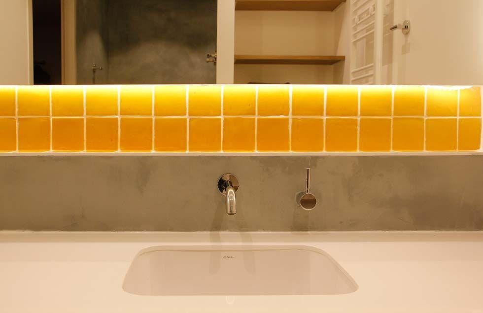Badkamers Den Haag : Studio kustlijn architecten badkamer ontwerp den haag tadelakt